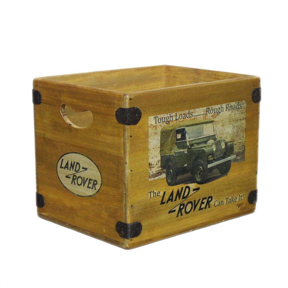 Land Rover Series 1 Box Vintage Wooden Crate